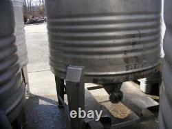 1,000 Liter 250 (264 gallon) Stainless Steel Sanitary Tank Beer Wine Tote Keg