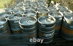 1/2 Barrel Bbl Beer Keg Stainless Steel 15.5 Gallon D Sankey Tap Empty