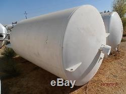 1,200 Gallon Stainless Steel Cryogenic Liquid Nitrogen Storage Tank