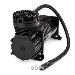 10 GAL 12V DC 200 PSI 444C Max Horn Air Compressor With Relays Switch Truck Boat