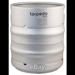 10 GALLON! Torpedo Ball Lock Keg 10 gal Corny Keg Homebrew Stainless Beer Wine