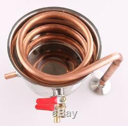 10L-100L Ethanol Water Copper&Stainless Home Alcohol distiller Moonshine Still