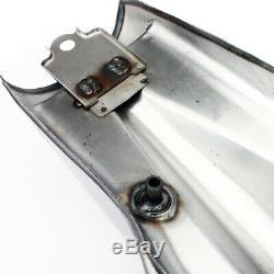 10L 2.6Gal Cafe Racer Tank Gas Fuel Cap Keys Petcock Custom Honda Yamaha XJR400