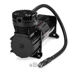 12V 200PSI Max Horn Air Compressor Kit 10 Gallon With Relays Switch Truck Boat