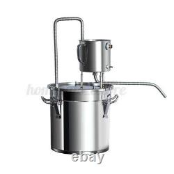 13 Gallon 50L Water Alcohol Wine Distiller Moonshine Still Boiler Kit Stainless