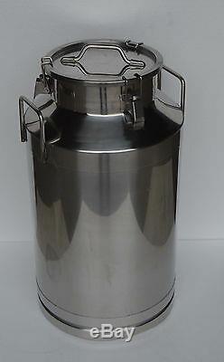 15.9 Gallon 60L Stainless Steel Wine&Milk Pail Beer Liquid vessel Home Storage