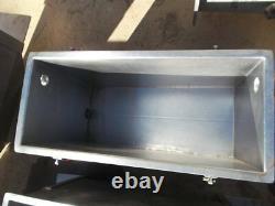 15 Gallon Sanitary Stainless Steel Rectangular Tank