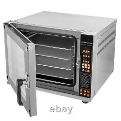 16Gal Toaster Oven Convection Oven 2.12cuft Spray Function 4-Tier Air Fryer Oven