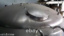 2000 Gallon Tank Processor Pasturizer Stainless Steel Jacketed Tank