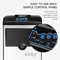 2in1 Built-In Electric Ice Maker Machine Water Dispenser Countertop 5 Gallon