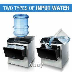 2in1 Built-In Electric Water Dispenser Ice Maker Machine Countertop 5 Gallon
