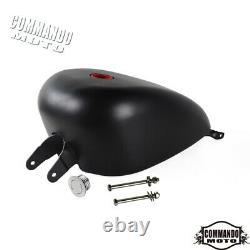 3.3 Gallon Gas Fuel Tank For Harley-Davidson Sportster XL883 XL1200 2007-2020