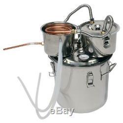 3 Pot 8 Gallon 30L Water Wine Alcohol Distiller Moonshine Still Boiler Home DIY