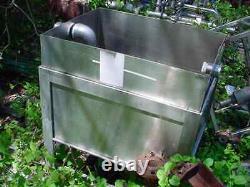 33 gallon STAINLESS STEEL RECTANGULAR TANK