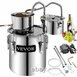 3pot 9.6 Gallon 38l Diy Water Wine Distiller Moonshine Still Boiler Kit