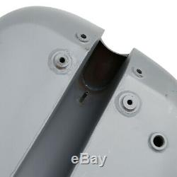 4.7 Gallon 5 Stretched Gas Fuel Tank Fit For Harley Chopper Custom Baggers