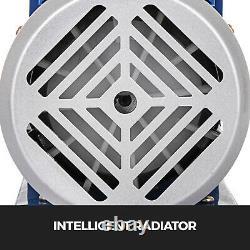4 CFM 2 Stage Vacuum Pump 3 Gallon Vacuum Chamber Degassing Silicone Kit