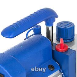4 CFM Vacuum Pump 2 Gallon Vacuum Chamber Expoxy Degassing 1720RPM 110/60HZ