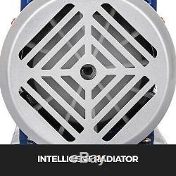 5 Gal Chamber Chamber & 5CFM Vacuum Pump Deep Vane 1/3 HP Single Stage Manifold