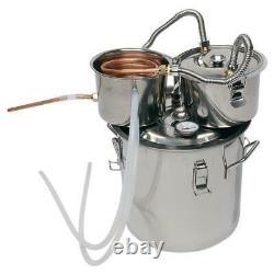 5 Gallon 3 Pot DIY Wine Water Alcohol Wine Distiller Moonshine Still Boiler Kit