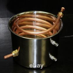 5 Gallon 3 Pot Distiller System Stainless Water Alcohol Wine Moonshine Boiler