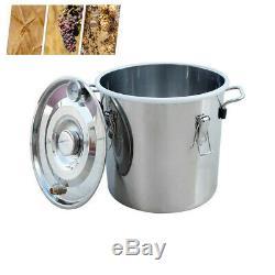 5 Gallon 3 Pot Set Distiller Kit Boiler Stainless Alcohol Still Wine Making Brew