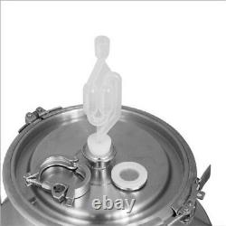 5 Gallon Stainless Steel Keg Growler Pot Bottle For Beer Wine Home Brew Making