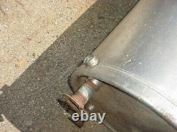 55 gallon STAINLESS STEEL TANK DRUM