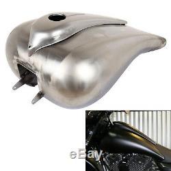 6.6 Gallon Custom Stretch Gas Fuel Tank for Harley Electra Street Glide 08-19