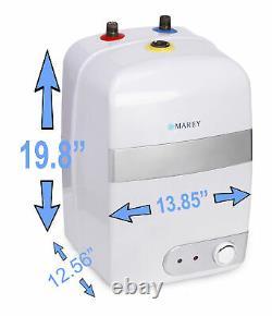 6 Gallon Electric Water Heater Marey Mini Tank Refurbish 110 v /20 Amp US Seller