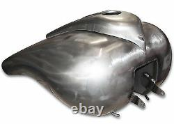 7.2 Gallon Stretched Gas Fuel Tank For Harley Touring 2003-2007 FL FLH