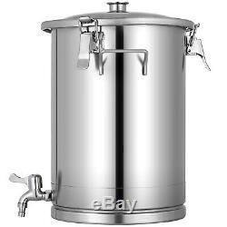 7.5 Gallon Stainless Steel Brew Fermenter Bucket Brewing Technology 28L