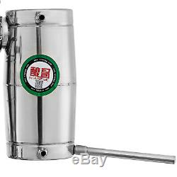 8 Gal Home Stainless Steel Distiller Water Alcohol Whiskey Moonshine Still Kit