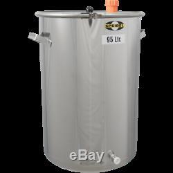 95L (25 Gal) Speidel Stainless Steel Fermentation & Storage Cask Beer Wine Makin