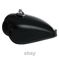 9L 2.4 Gallon Motorcycle Fuel Gas Tank Cap Kit For Suzuki GN125 GN250 Gloss US