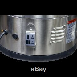 ANVIL FOUNDRY 6.5 GALLON Automatic Stainless Steel Beer Brewing Kettle Pot