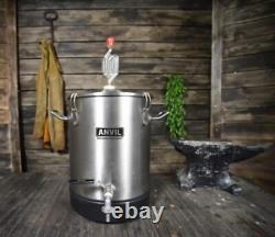 Anvil Brewing Stainless Bucket Fermentor 4 Gallon Conical Bottom Fermenter