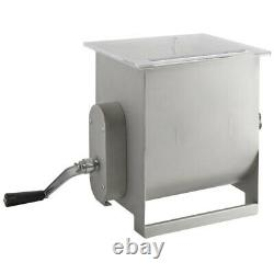 Backyard Pro 44lb. 7 Gallon Meat Mixer with Removable Paddles Restaurant Food New
