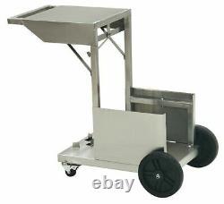 Bayou 4 Gallon Bayou Fryer & Accessory Cart Stainless Steel Model 700-704