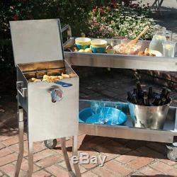 Bayou Classic 2.5 Gallon Propane Deep Fryer Stainless Steel Model 700-725