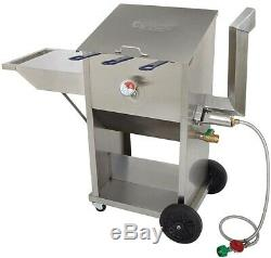 Bayou Classic 700-709 Outdoor Deep Fryer SHELF 9 gallon Propane Gas 6993976