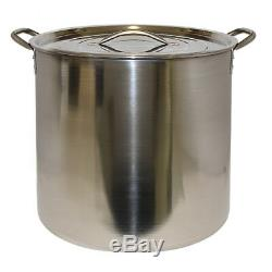 Beer Making Equipment with 5 Gallon Ingredient Kit and Stainless Steel Brew Pot