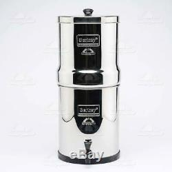Berkey Big Royal Blemished Water Filter System 2 Black Filters BB9-2 Authorized