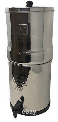 Big Berkey Water Filter System 2.25 Gallon No Filters Off Grid Tiny Living RV