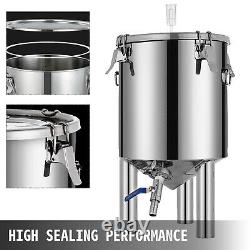 Brew Bucket Stainless Conical Fermenter 7 Gallon, Brewmaster Edition 304