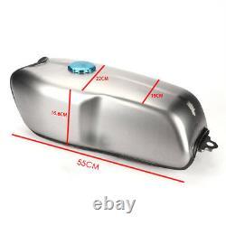 Cafe Racer Universal 9L/ 2.4 Gallon Gas Fuel Tank for BMW Honda Yamaha