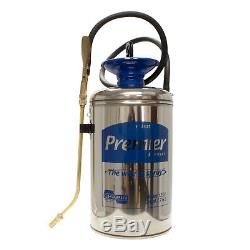 Chapin Stainless Steel Sprayer 2 Gallon Model 1253 Pesticide Herbicide Sprayer