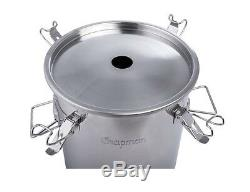 Chapman Brewing Equipment 14 Gal Stainless Fermenter Boil Kettle Ported Homebrew