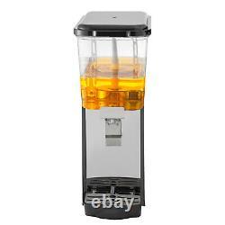 Commercial Juice Dispenser 4.8 Gallon Cold Beverage Drink Dispenser Machine 18L