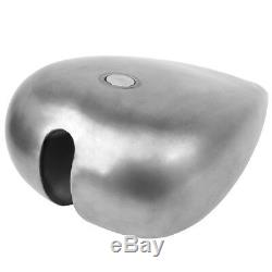 Custom 5 Stretched 4.5 Gallon Gas Fuel Tank For Harley Chopper Motorcycle